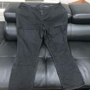 Avenue black jeans